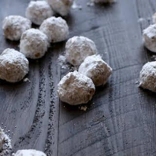 Butter Walnut Cookies.