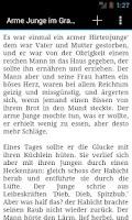 Screenshot of Grimms Märchen