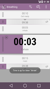 Yoga Timer- screenshot thumbnail