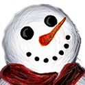 Smiling Snowman Live Wallpaper