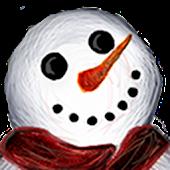Smiling Snowman Live Wallpaper
