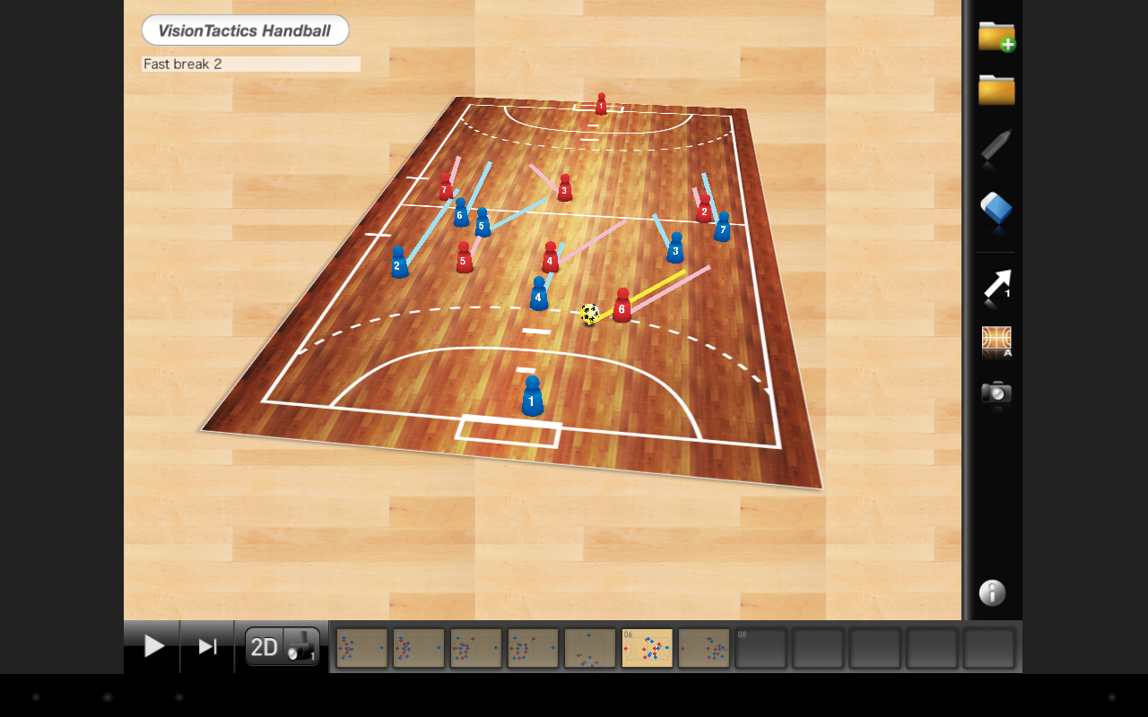 VisionTactics Handball- screenshot