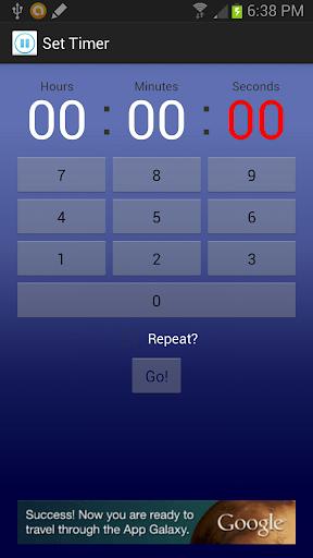 Easy Interval Timer