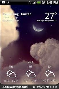9s-Weather Theme+(Nature) Free - screenshot thumbnail