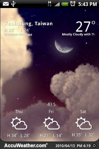 9s-Weather Theme+(Nature) Free - screenshot