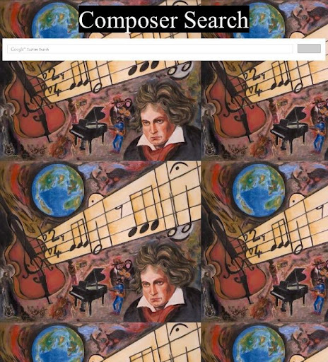 Kids Composer Search
