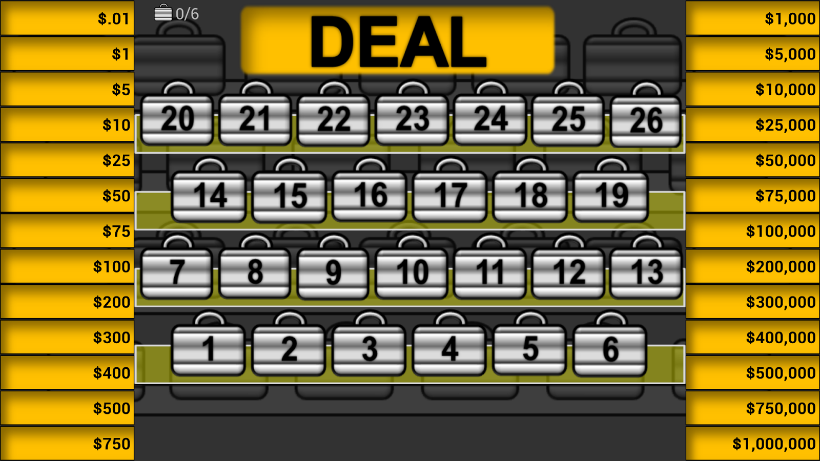 Play Deal or No Deal UK at Casino.com UK