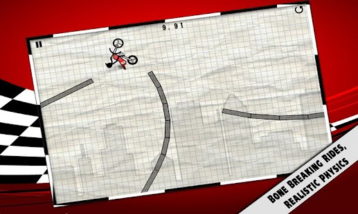 Stick Stunt Biker (Free) - screenshot thumbnail