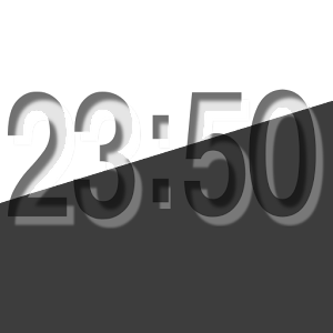 Emboss Clock Widget 個人化 App LOGO-APP試玩