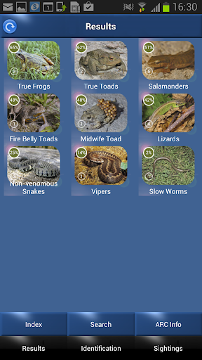 ARC - Amphibians and Reptiles