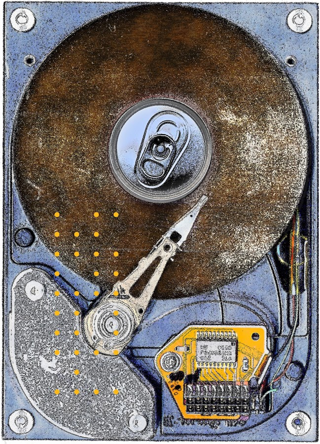 canned memories by Brut Carniollus - Illustration Products & Objects ( digital graphics, digital, scanogram, digital collage, device, digital art, object )