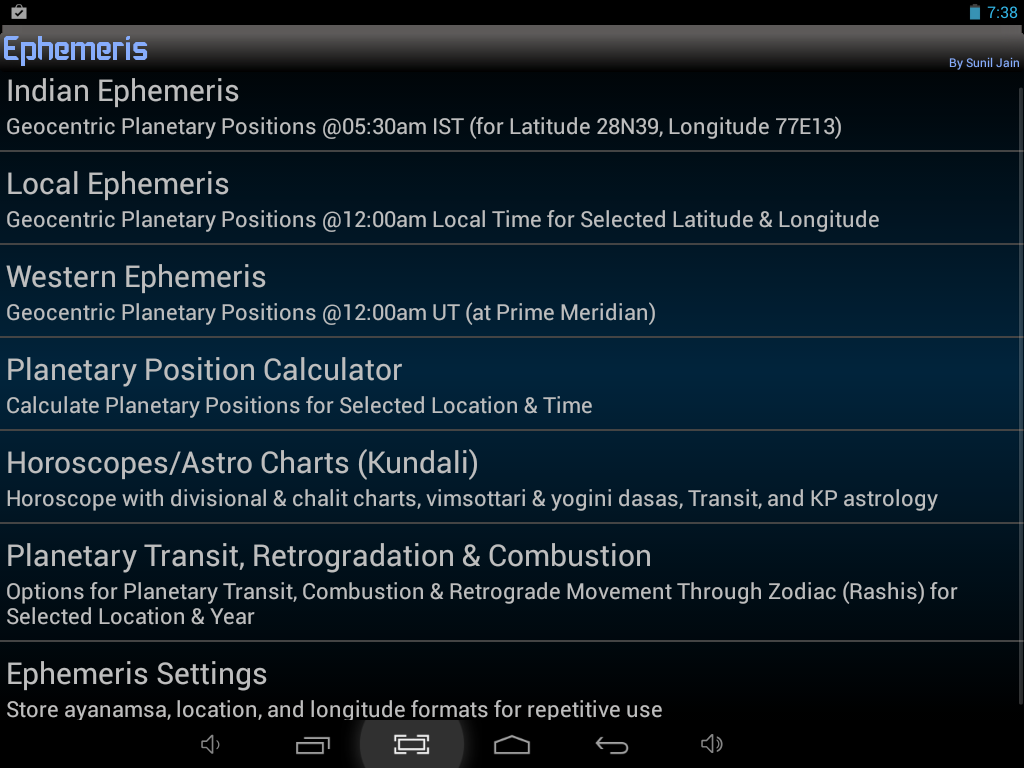 Ephemeris astrology software android apps on google play ephemeris astrology software screenshot nvjuhfo Choice Image