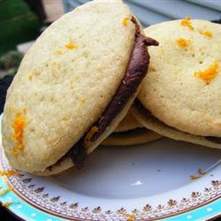 Fudge-Topped Orange Cookies