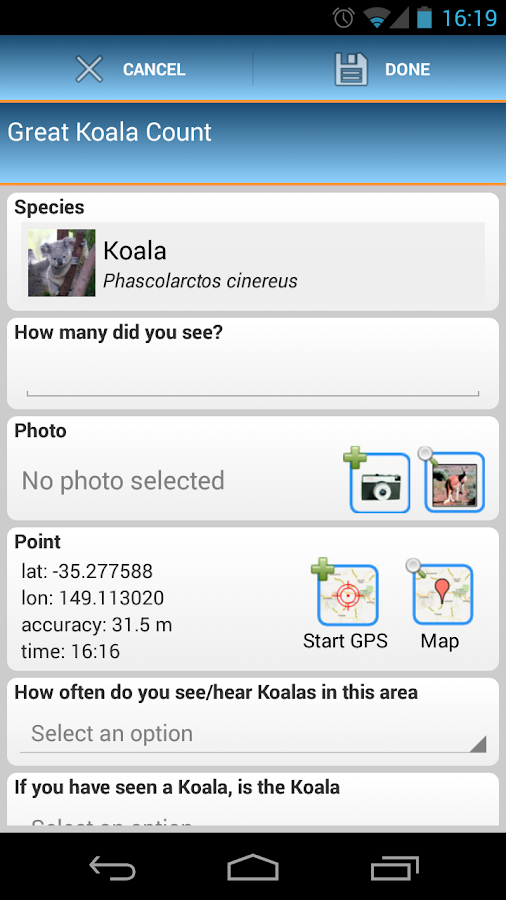 BioTag- screenshot