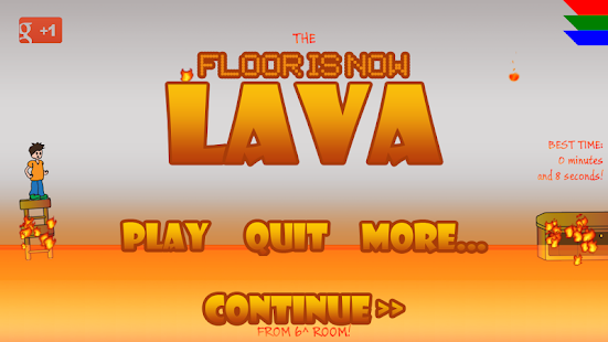 The Floor Is Now Lava- screenshot thumbnail