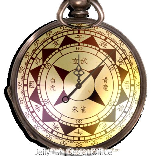 和時計・懐中時計ウィジェット LOGO-APP點子