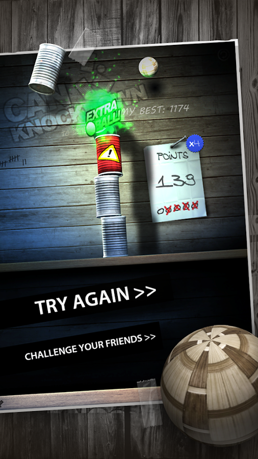 Can Knockdown - screenshot