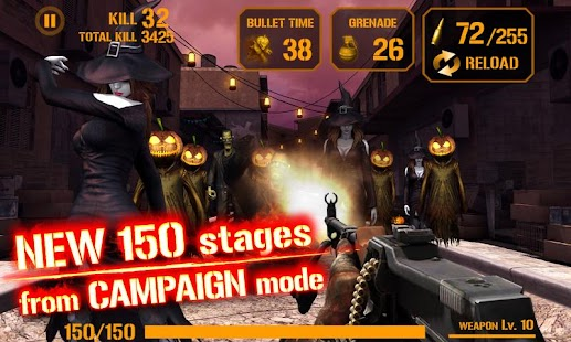 GUN ZOMBIE : HALLOWEEN- screenshot thumbnail