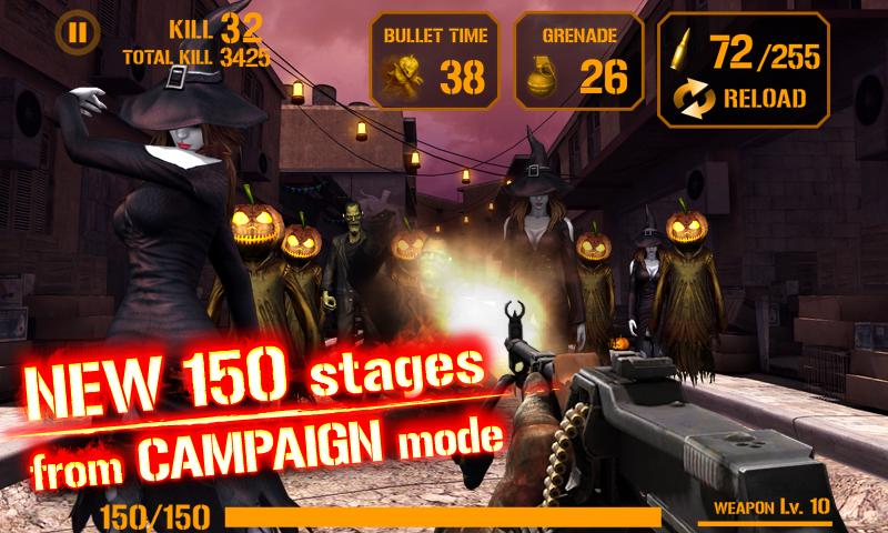 GUN ZOMBIE : HALLOWEEN - screenshot