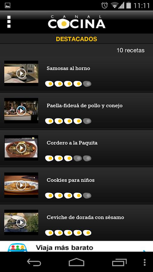 Canal cocina aplicaciones android en google play for Chema de isidro canal cocina