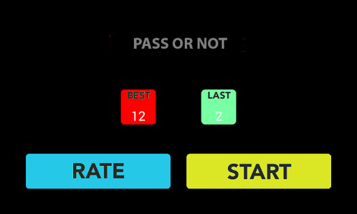 Pass or Not