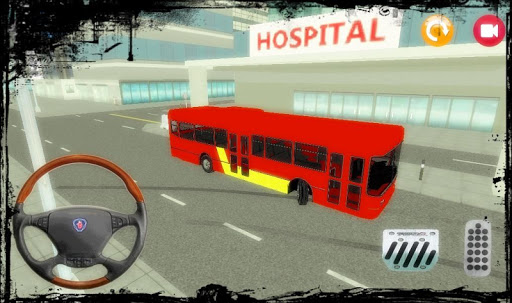 Trafikte Otobüs Sürme