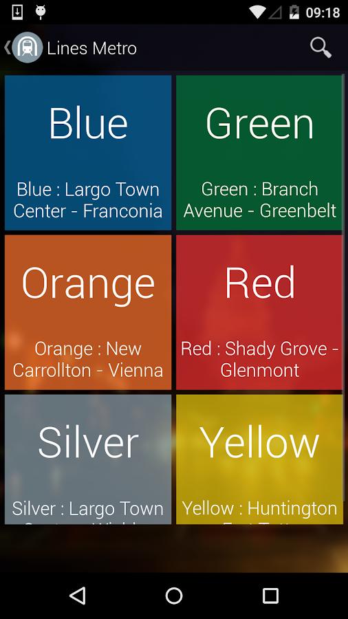 Washington DC Moves: Bus Metro- screenshot