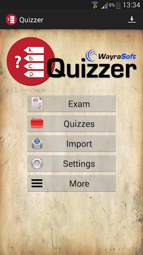 Quizzer Key