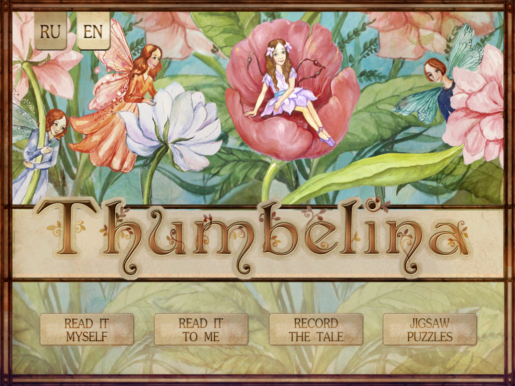 Thumbelina- screenshot
