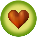 Avocado - Chat for Couples mobile app icon
