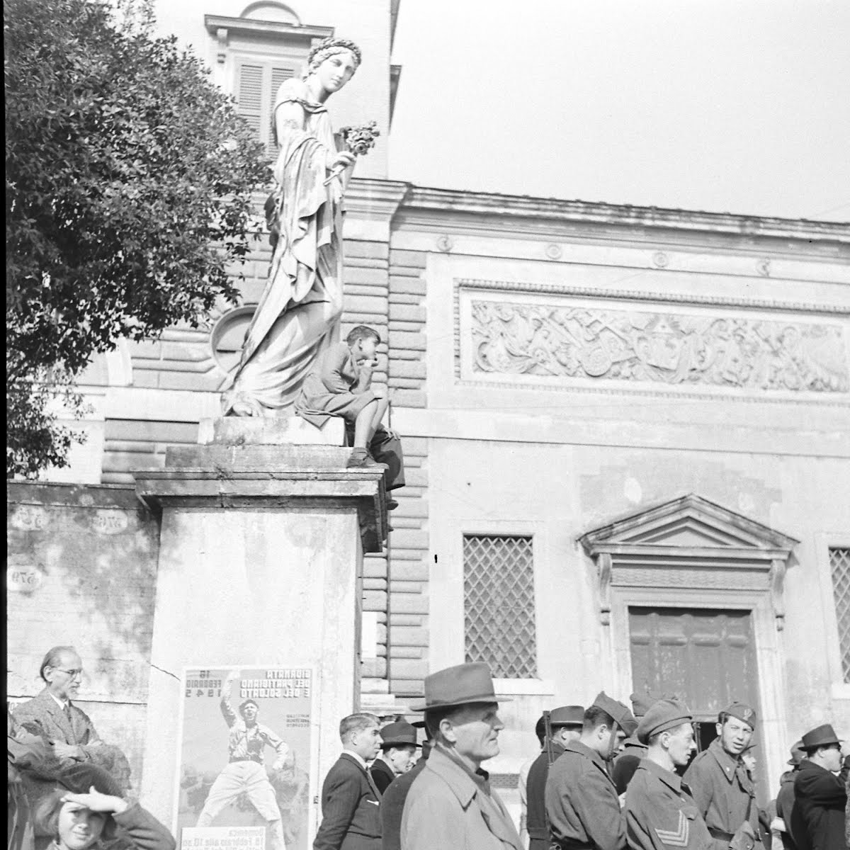 Partisan Demonstration In Rome