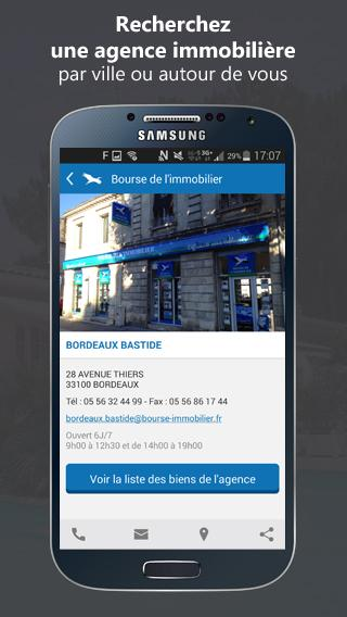 Bourse de l'Immobilier- screenshot