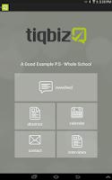 Screenshot of tiqbiz