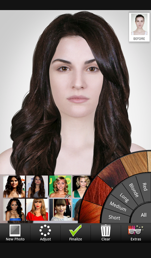 Amazing Celebrity Hairstyle Salon Android Apps On Google Play Short Hairstyles Gunalazisus