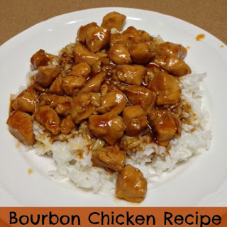 Bourbon Chicken!.