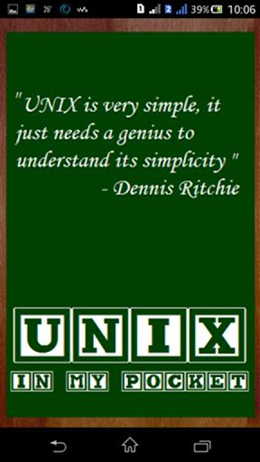UNIX - In My Pocket