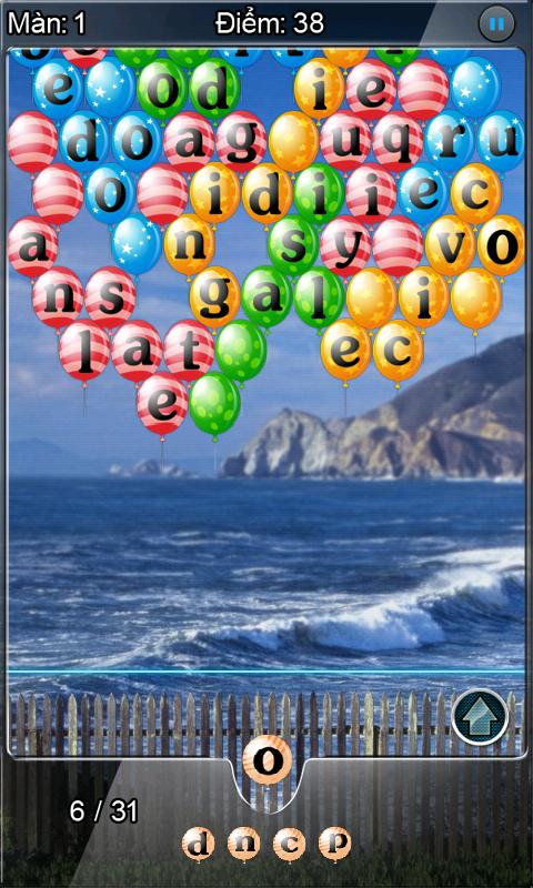 Shoot Words (Bắn Chữ) Trial - screenshot