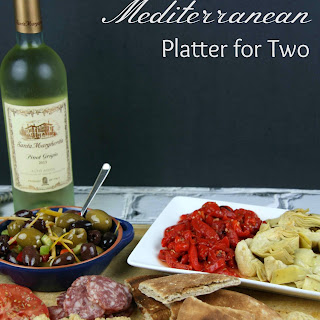 Mediterranean Platter for Two.