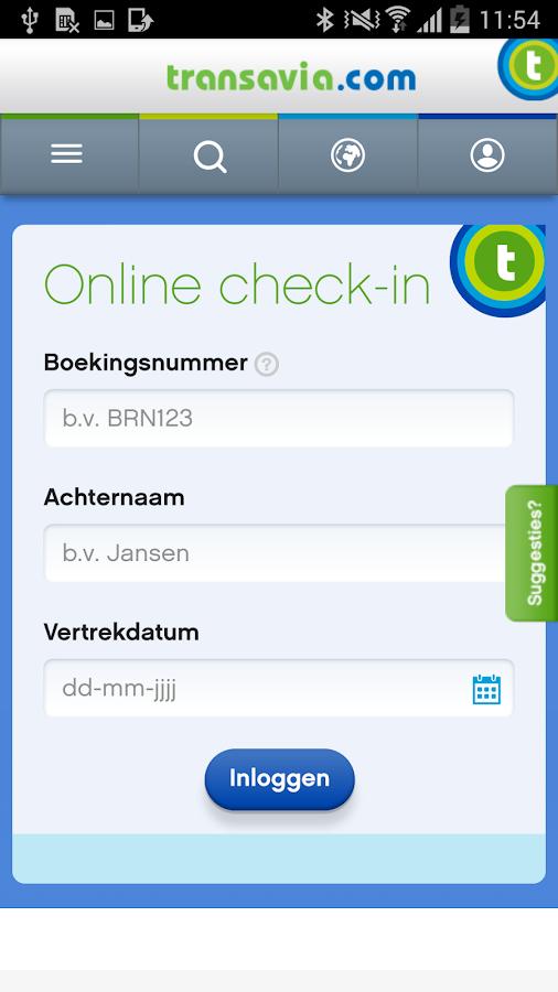 transavia.com - screenshot
