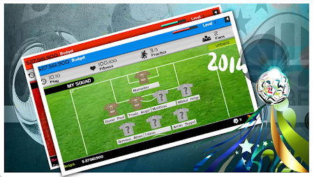 World Cup 2014 Soccer Manager 1.0 screenshot 52310