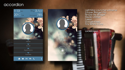 accordion LLX Theme\Template