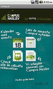 Campus Haslev – miniaturescreenshot