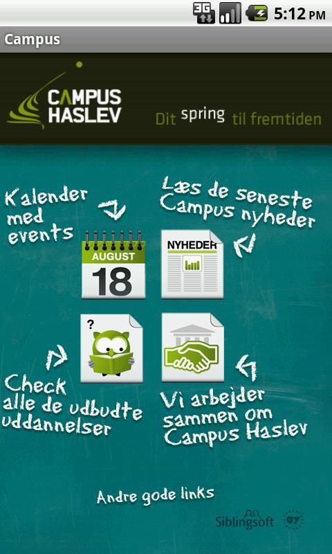 Campus Haslev – screenshot