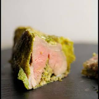 Roasted Leg of Lamb in the Connemara Green Coat.
