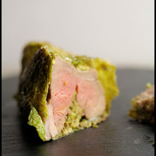 Roasted Leg of Lamb in the Connemara Green Coat.