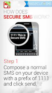 e96SecureSMS (Free) by Aglaya screenshot