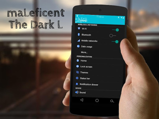 maLeficent – CM11 Theme v1.3 apk free download