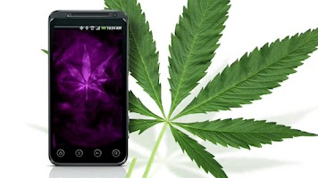 Screenshot of Marijuana Live Wallpaper PRO