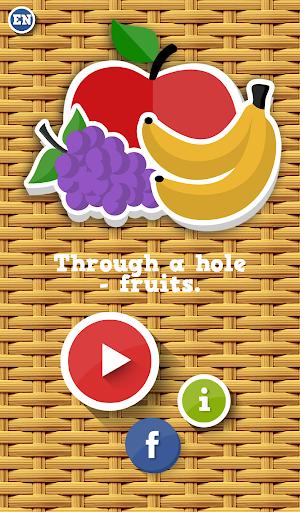 通過一個洞 - 水果|玩解謎App免費|玩APPs