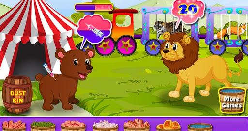 玩免費休閒APP|下載서커스 동물 - 자상 한 게임 app不用錢|硬是要APP